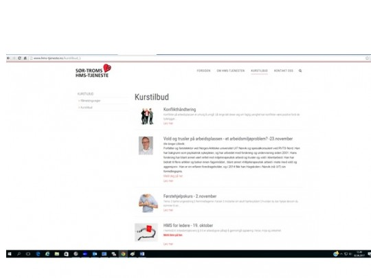 Nytt påmeldingsystem for våre kurs